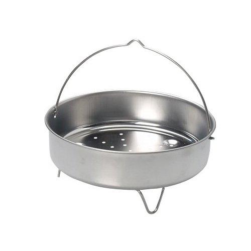Einsatz und Standfuß Set für ELO Schnellkochtopf Praktika Plus XL aus Edelstahl