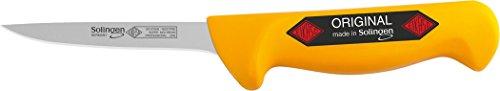 SOLINGEN EIKASO AusbeinmesserGeflügelmesserPolker 10cm gerade flexibel für Profis und Privat