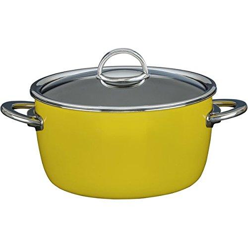 Kochstar 33608626 Fleischkasserolle Neo mit Glasdeckel 26 cm Neongelb