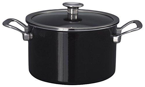 Kochstar Fleischkasserolle Edelstahl Schwarz 20 cm