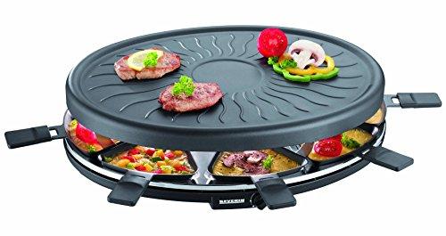 SEVERIN Raclette-Partygrill ca 1100 W Inkl 8 Pfännchen RG 2681