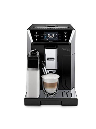 "DeLonghi PrimaDonna Class ECAM 55655SB Kaffeevollautomat 35"" TFT-Farbdisplay  Integriertes Milchsystem  APP Steuerung  19 bar Pumpendruck  2-Tassen-Funktion  Schwarz"