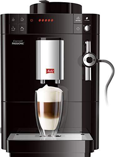 Melitta Caffeo Passione F530-102 Kaffeevollautomat mit Auto-Cappuccinatore-System Schwarz