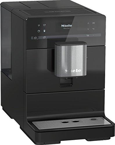Miele CM 5300 Kaffeevollautomat OneTouch- und OneTouch for Two-Zubereitung automatische Spülprogramme komfortable Reinigungsprogramme entnehmbare Brüheinheit Edelstahl-Kegelmahlwerk schwarz