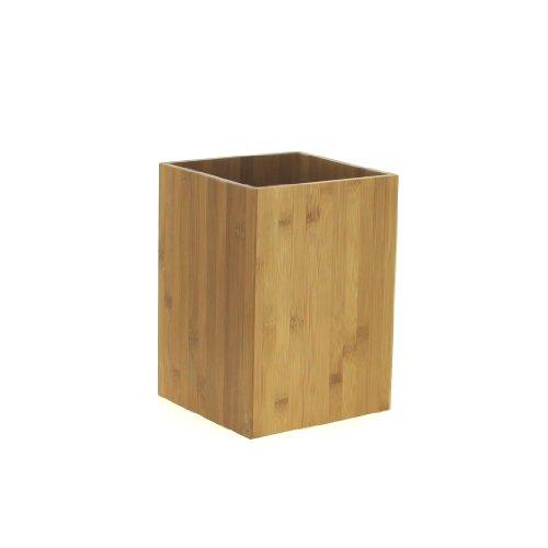 Mülleimer aus Bambus für Bad oder Küche