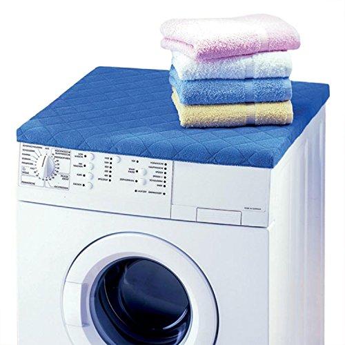 Betz Waschmaschinenbezug Trockner Abdeckung Größe 60x60 cm Farbe Blau