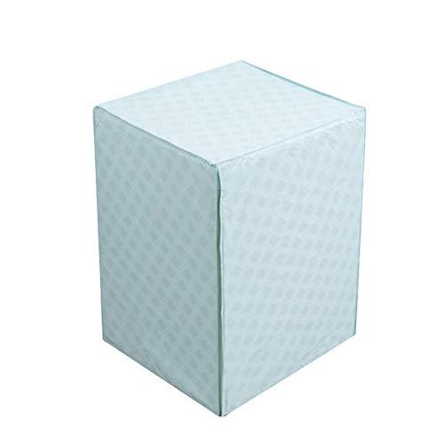 OUNONA Waschmaschine Abdeckung Wasserdicht Staubdicht Deckel für Waschmaschine Frontlader Wärmepumpentrockner Blau