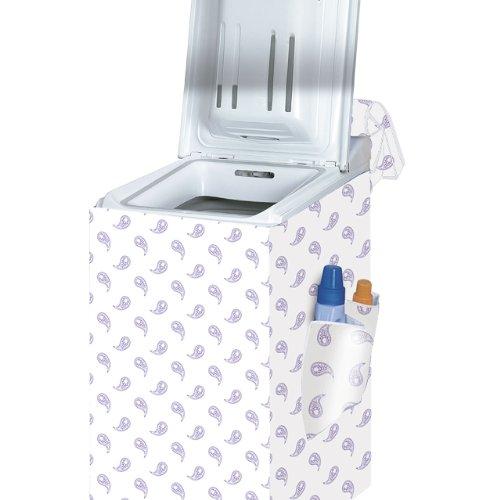 Rayen 239660 Abdeckung für Waschmaschinen mit Toplader 84 x 45 x 65cm Doppelstoff Farblich sortiert