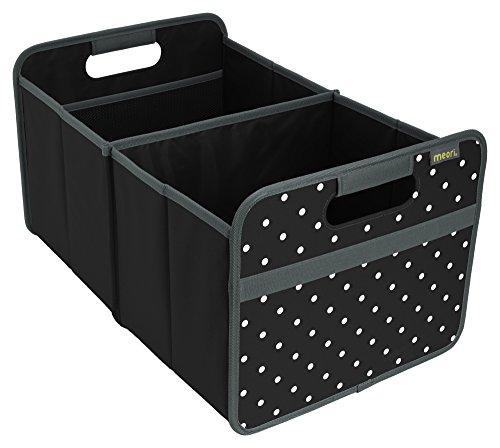 Meori Classic Large Lava SchwarzPunkte 32x50x275cm stabil abwischbar Polyester Premium Qualität Freizeit Spielplatz Autobox Club Sport Spiel Faltbox
