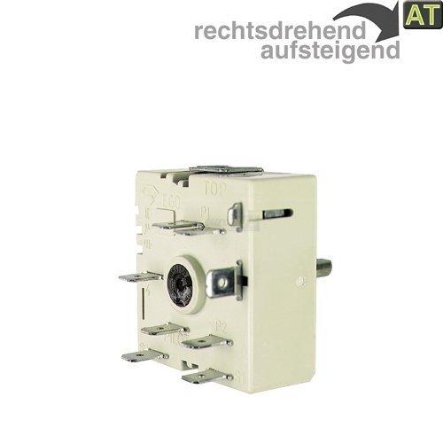 Energieregler EGO 5055021100 Zweikreisregler rechts steigend für AEG Electrolux 305170621 Bosch  Siemens 605922