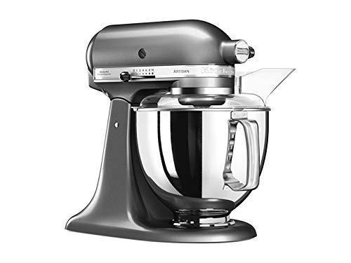 KitchenAid  5KSM175PSEMS Küchenmaschine Artisan 48L Medaillon Silber