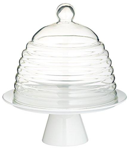 Kitchen Craft Sweetly Does It Tortenplatte mit Glashaube 28 cm