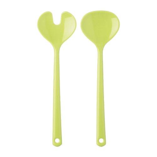 Rosti Mepal 102058091200 Salatbesteck Synthesis aus Kunststoff lime 1 Set