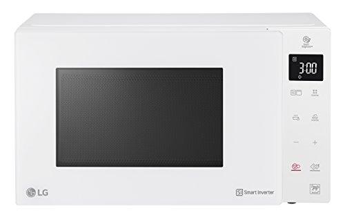 LG Electronics NeoChef MH6535GIH Mikrowelle mit Grill  1000 W  25 L  Digitaldisplay  weiß