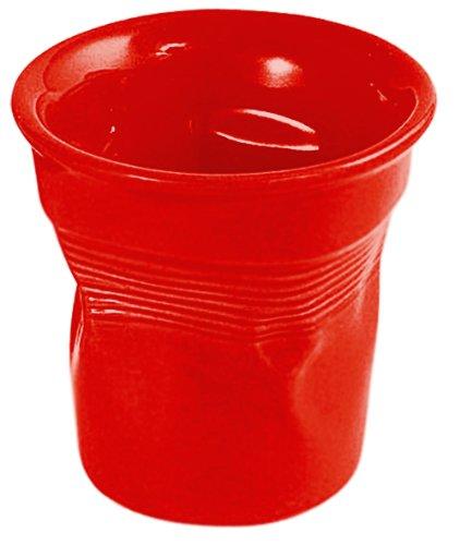Bialetti RTATZ148 Espressobecher Bicchierini rot  Set aus 6 Espressobechern