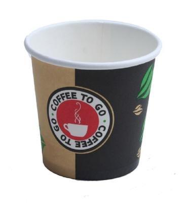 Espressobecher to go - Hartpapier - Becher 100ml Pappbecher Espresso 1000