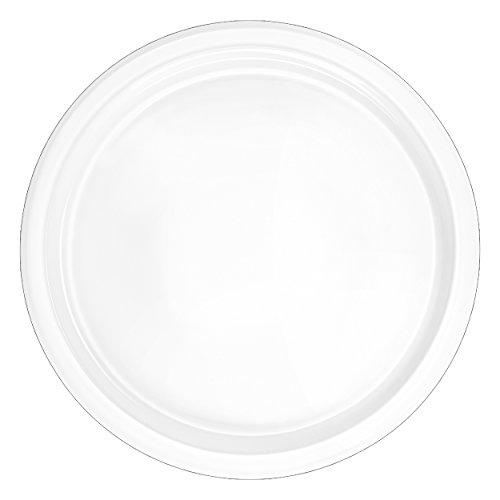 ASA Grande Käse-Pizzateller Keramik Weiß 34 cm