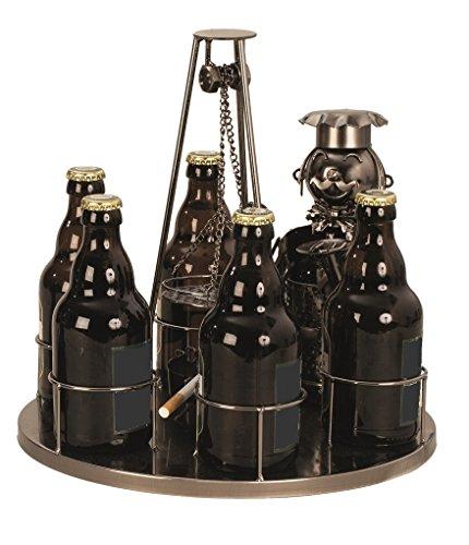 Flaschenhalter Bier Schwenker Grillmeister Ø ca 30 cm für 6 Flaschen