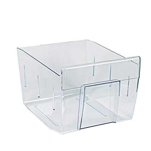 Electrolux AEG 224713924 2247139245 ORIGINAL Gemüseschale Schublade Gemüsefach Kühlfach Kühlschublade Gemüseschublade Behälter Schale 230x180x305mm Kühlschrank auch für Novamatic Privileg Progress