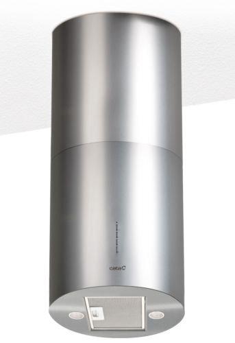Luxus Edelstahl Inselhaube 40 cm  1000m³hInsel Dunstabzugshaube 40 cmAbzugshaube mit 3 LeistungsstufenDeckenhaube mit LED BeleuchtungAblufthaubeUmlufthaubeTimerMarkenherstellers Cata