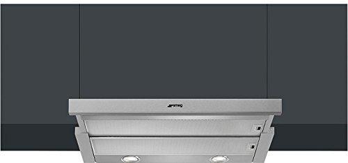 Smeg KSET600XE Flachschirm Dunstabzugshaube Edelstahl Küchenlüfter Haube 60cm