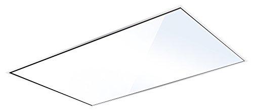 SILVERLINE QUD 124 W Quadra DeckenhaubeDunstabzugshaube  Inselhaube  120 cmC