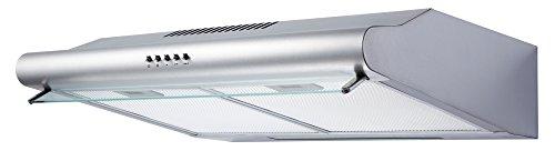 respekta Dunstabzugshaube Abzugshaube Unterbauhaube Wandhaube unterbaufähig 60 cm Edelstahl LED CH 1259 IX C