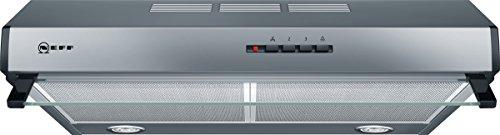 Neff DEB1612N D16EB12N0  Unterbauhaube  60cm  Edelstahl  Wahlweise Abluft- oder Umluftbetrieb