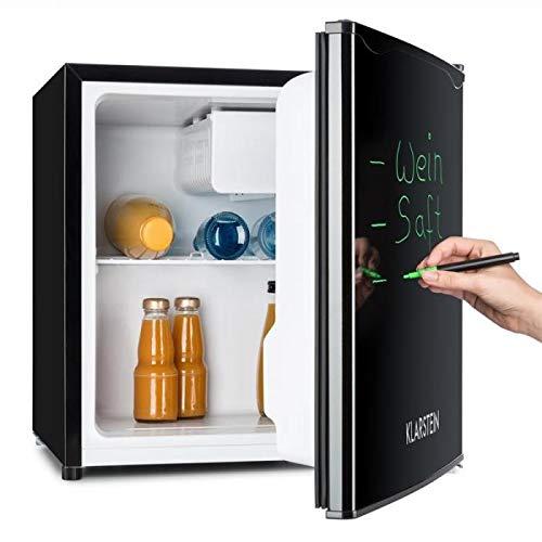 Klarstein • Spitzbergen Aca • Minibar • Mini-Kühlschrank • Getränkekühlschrank • A • 40 L • 47 x 48 x 44 cm BxHxT • beschreibbare Kühlschranktür • regelbare Temperatur • schwarz