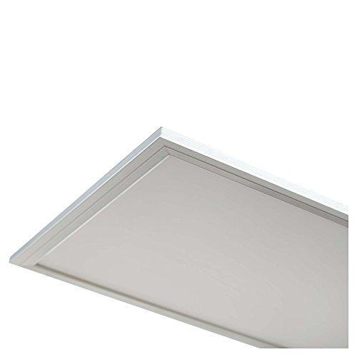 LEDUS LED Panel Lampe 40W 300 x 1200 Tageslicht Weiß hochwertig Weiß Energieeffizienzklasse A