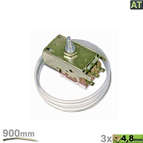 Thermostat für Kühlschrank Kühlschrankthermostat Temperaturregler wie AT Ranco K59-L1287 AlternativTeil passend ua wie Liebherr 6151086