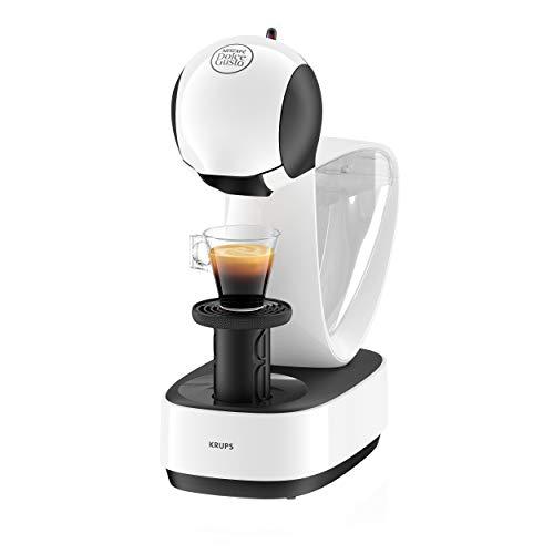Krups Nescafé Dolce Gusto Infinissima KP1701 Kapsel Kaffeemaschine für heiße und kalte Getränke 15 bar Pumpendruck manuelle Wasserdosierung 12 l Wassertank Abschaltautomatik weiß