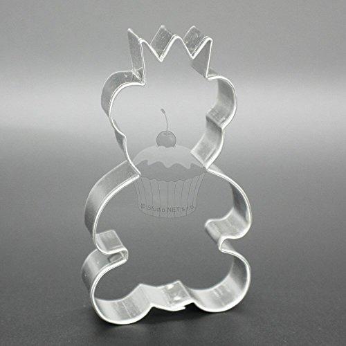 AusstechformenAusstecher - Teddybär mit Krone