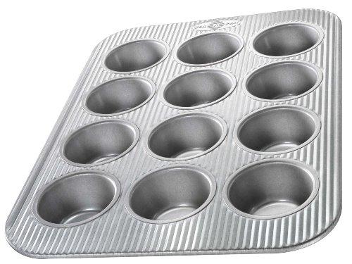 USA Pan Bakeware Cupcake und Muffin Pan 12 Nun Nonstick Quick Release Beschichtung Made in den USA aus Aluminium Stahl