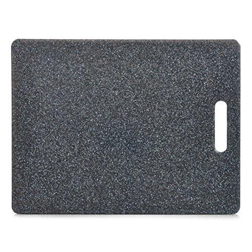 Zeller 26057 Schneidebrett Granitoptik Kunststoff ca 365 x 275 x 08 cm