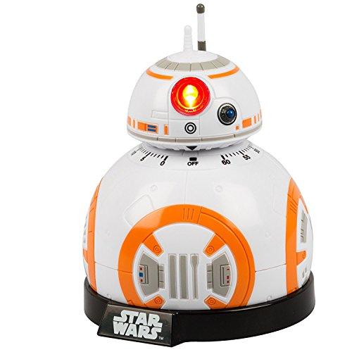 Star Wars Ep Vii Küchentimer Bb8 Licht und Ton Weiß