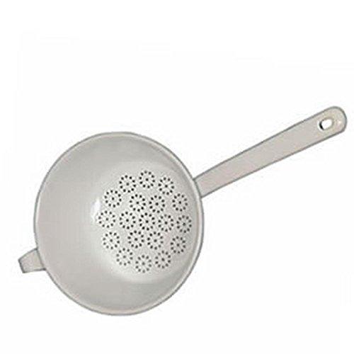 Riess - Passiersieb - Küchensieb - Durchschlag - Emaiile - weiß - Ø 20cm