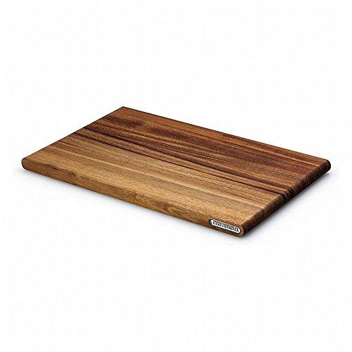 Continenta Schneidebrett Tranchierbrett aus Akazie Kernholz herausragende Qualität edle Musterung robust und langlebig Größe 36 x 23 x 18 cm