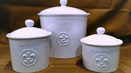 Kartoffeltopf Zwiebeltopf Knoblauchtopf Keramik