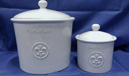 Kartoffeltopf und Zwiebeltopf Keramik